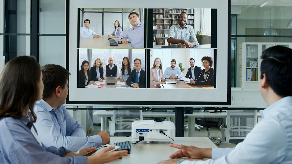 BenQ Smart Projector for Video Conferencing - Introduction Video