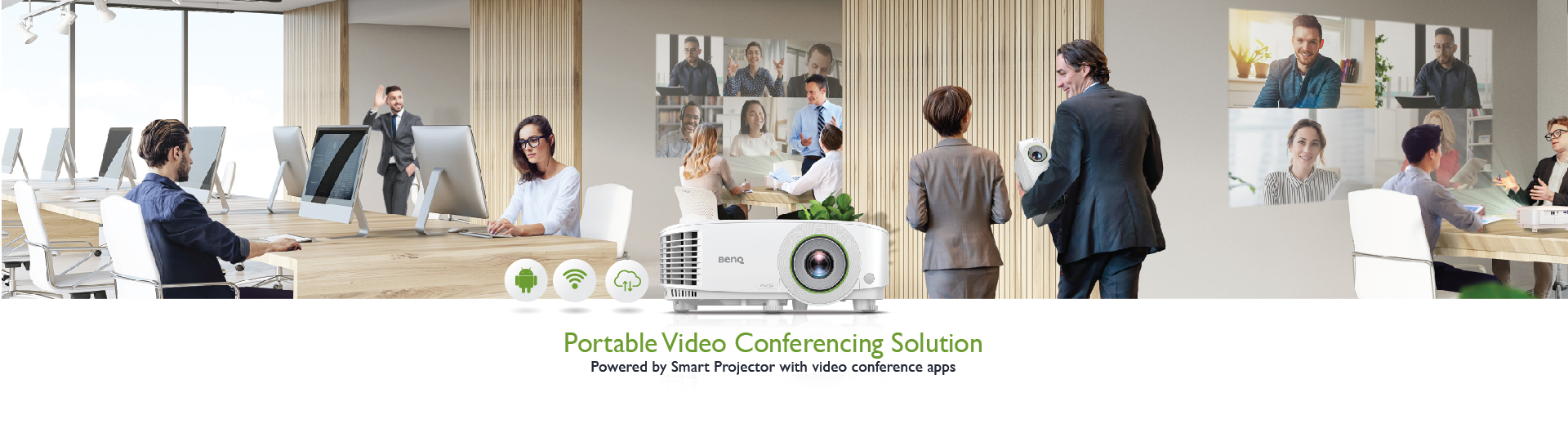 BenQ Portable Video Conference Solution
