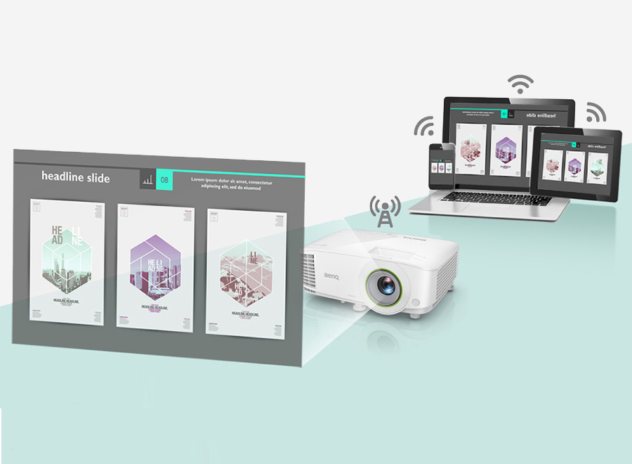 benq smart projector untuk smart meeting tanpa effort