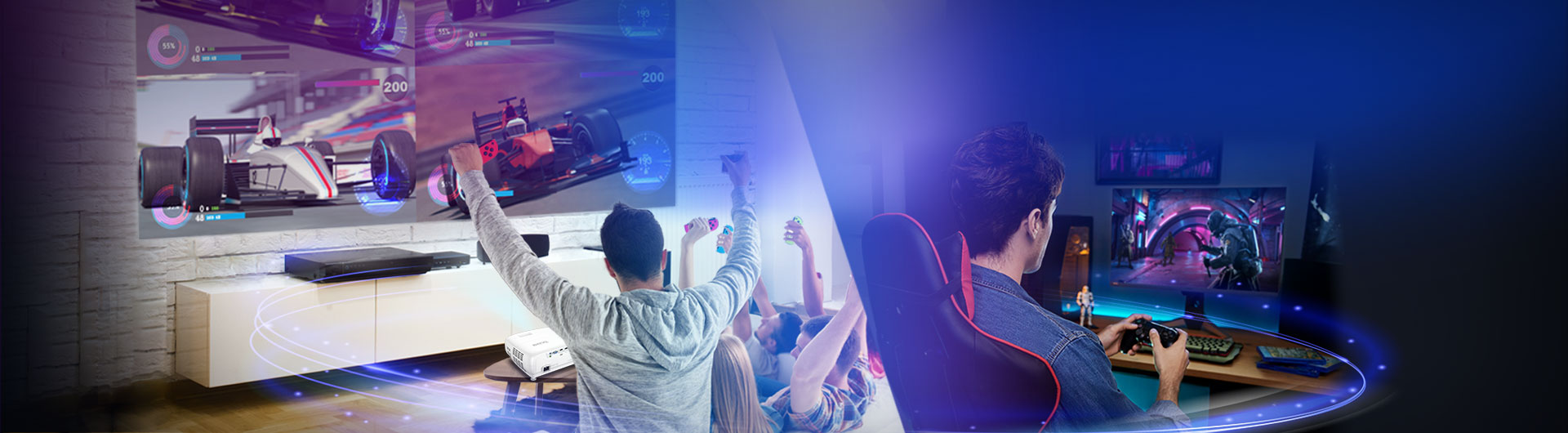 Enjoy Console Gaming with BenQ