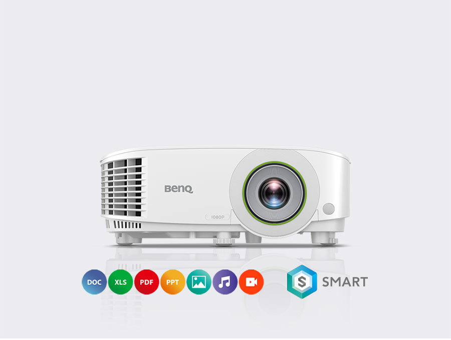 BenQ's wireless smart Projector E600 let you increase productivity in the meeting room.