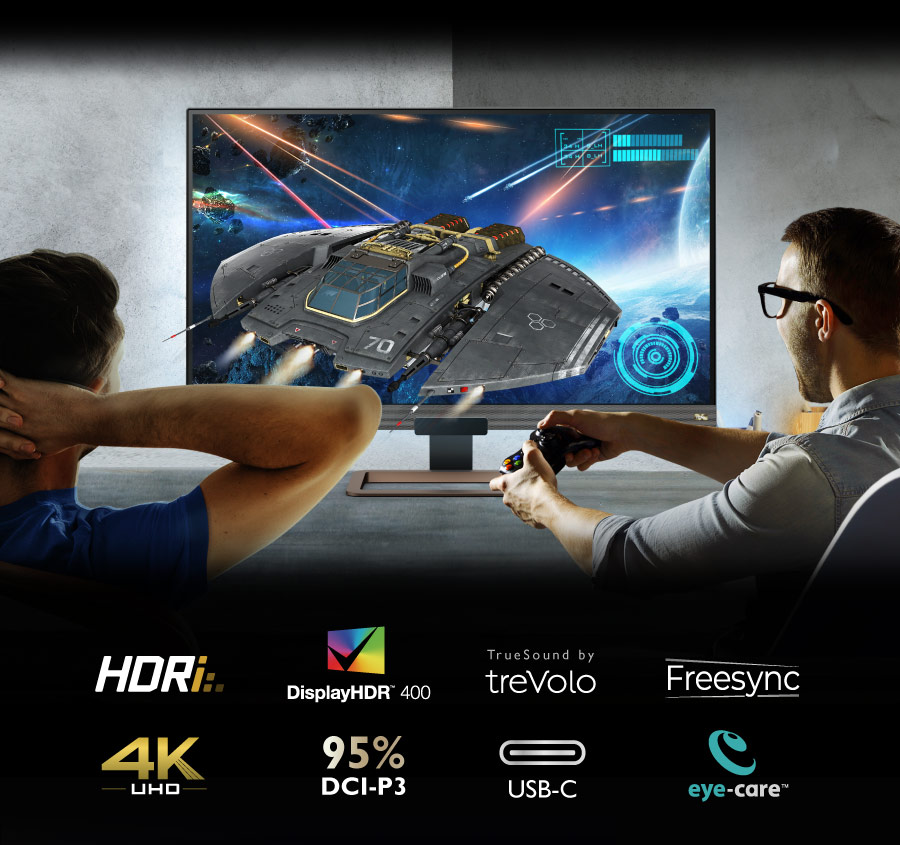BenQ 4K gaming monitor EW3280U provides you an amazing entertainment experience.