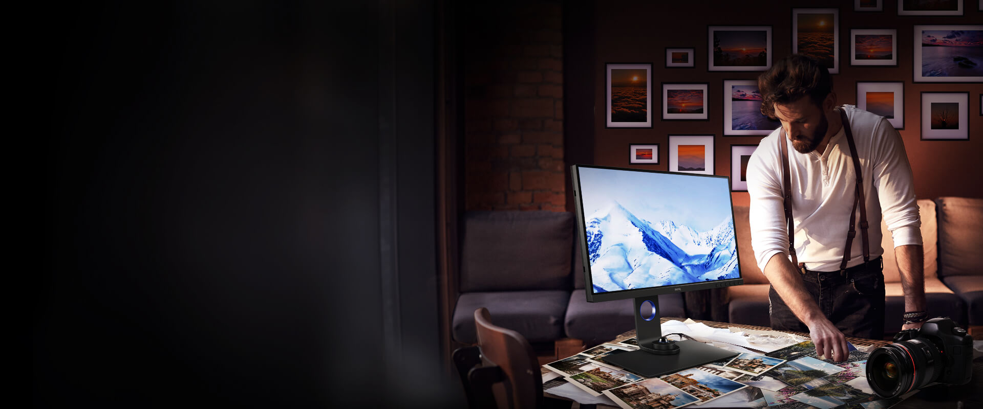 BenQ IPS 27 inch monitor sw270c presented high-leveled of color accuracy in every detail.