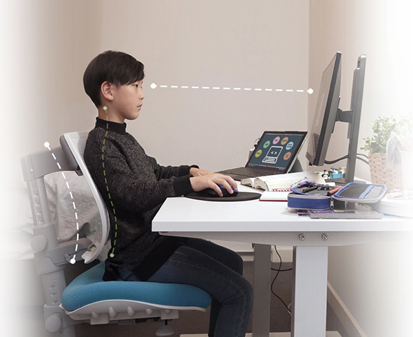 BenQ GW2480T is an eye care monitor for study and better seating position