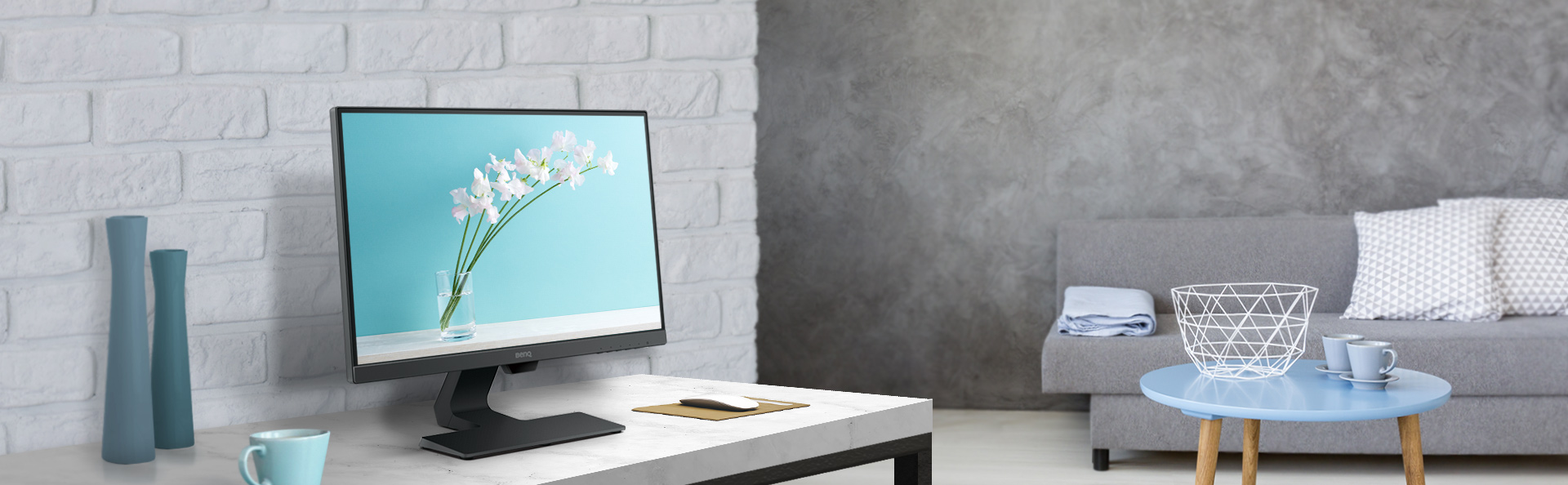 GW2480 Stylish Monitor with Eye-care Technology   BenQ Asia Pacific