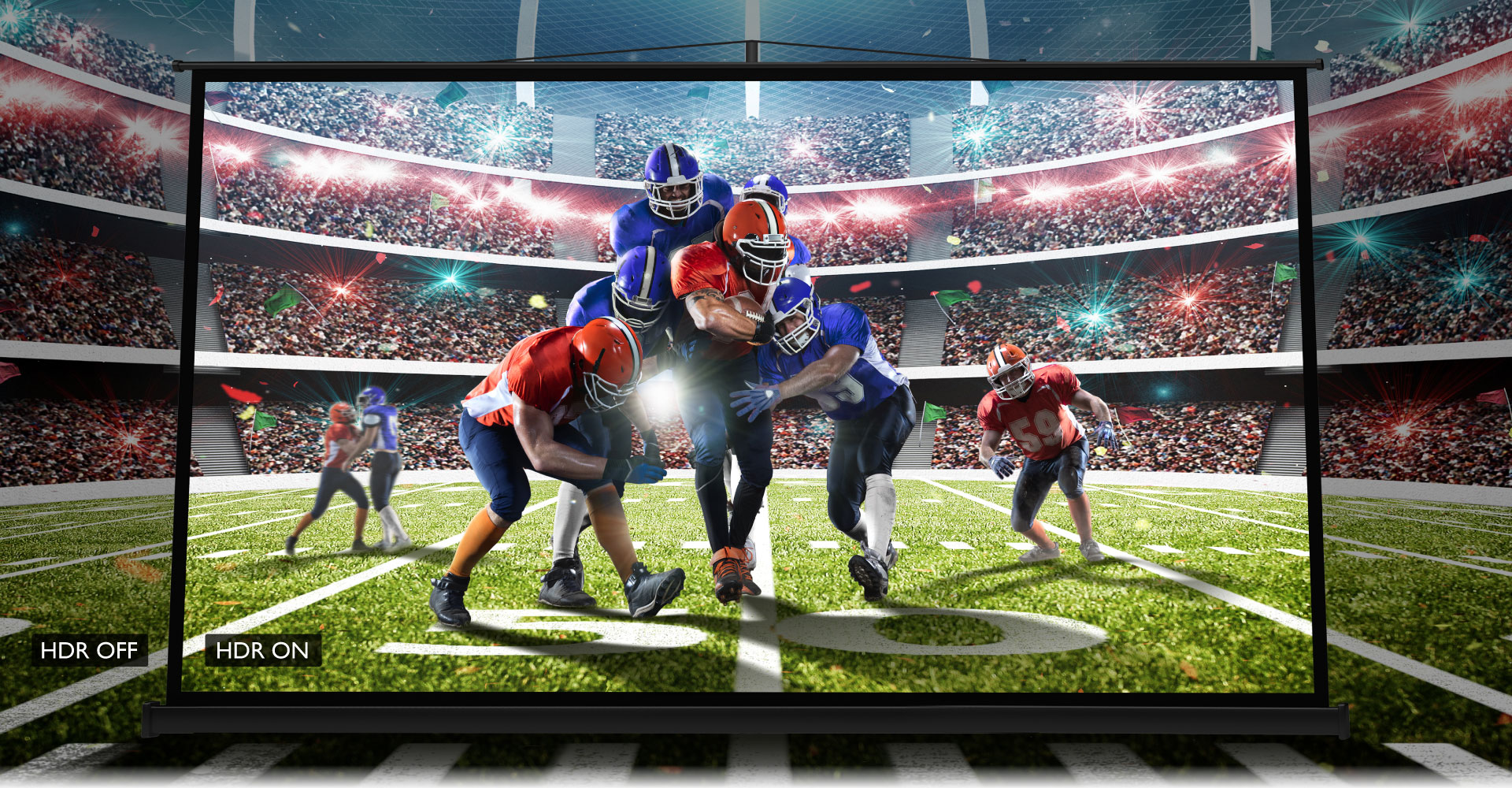 BenQ's sports projector provides you a high-quality entertainment experience by 4k HDR technology.
