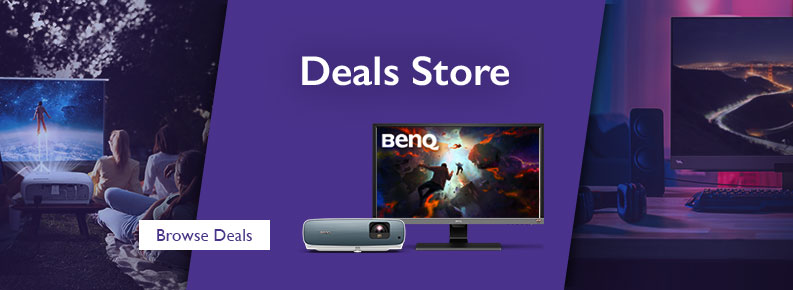 BenQ Sales and Promotions