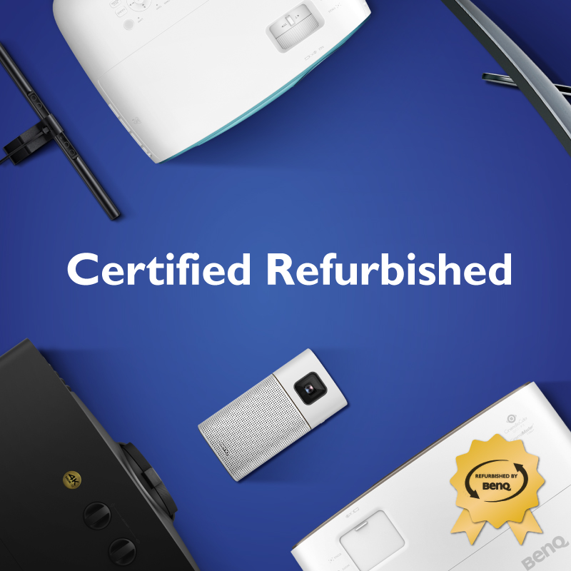 BenQ Certified Refurbished Products