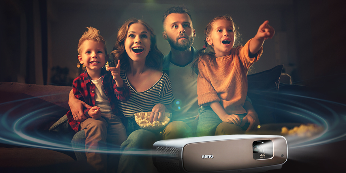 Projectors with powerful and advanced built in speakers offer excellent sound performance