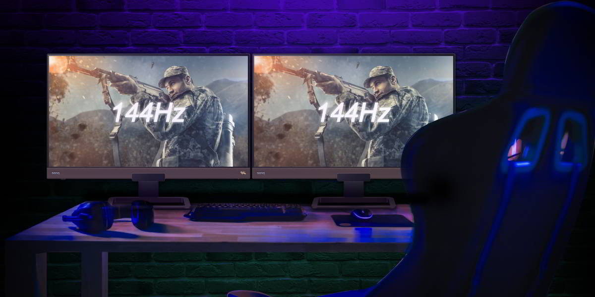 How To Run Two Gaming Monitors At 144hz Benq Asia Pacific