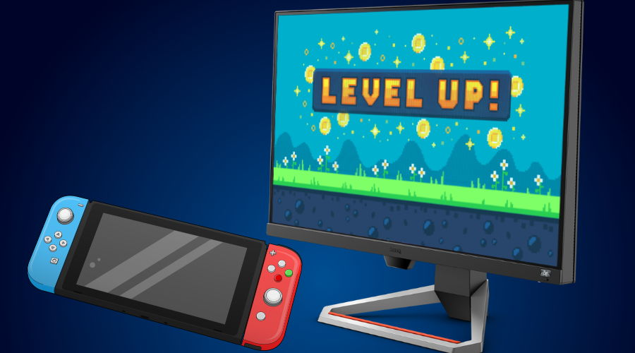 PC gaming monitors actually make for perfect Nintendo Switch displays. We explain why