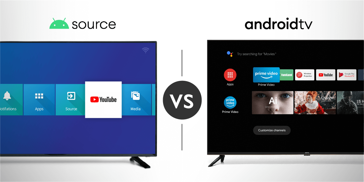 AOSP vs Android TV