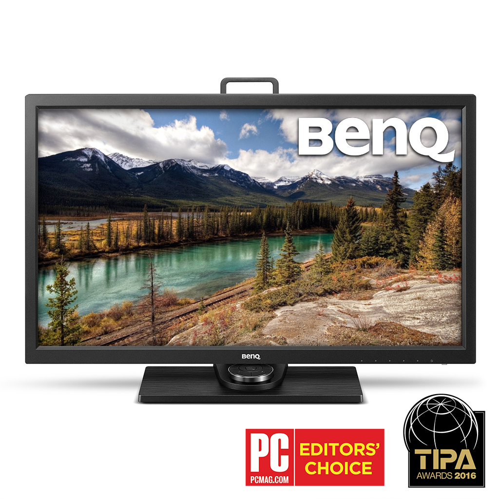 Best professional monitor for photo editing | BenQ SW2700PT