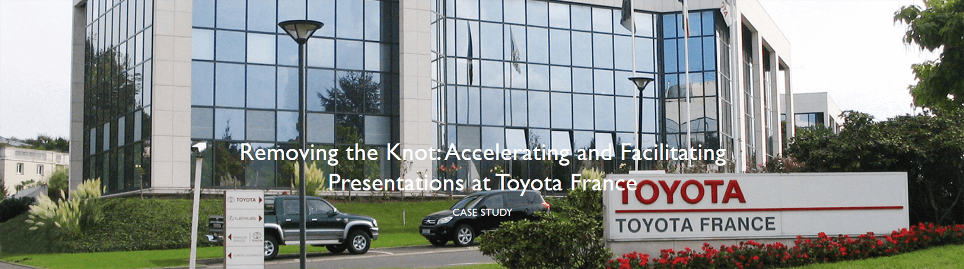 Removing the Knot: Accelerating and Facilitating Presentations at Toyota France
