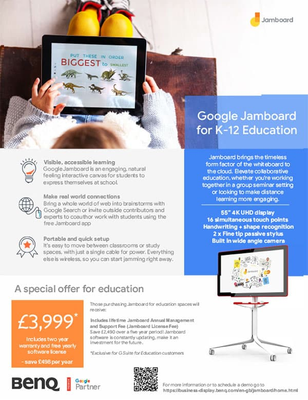 Jamboard for Education