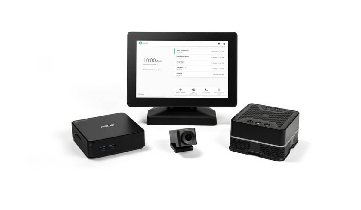 Google Hangouts Meet Hardware is a comprehensive collaboration solution.