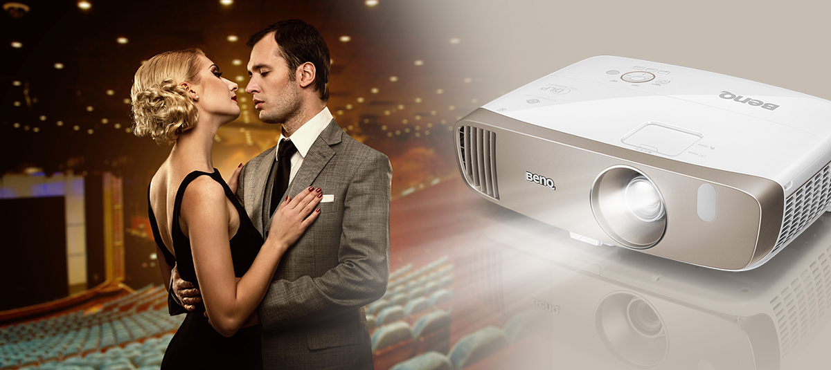 BenQ W2000 1080p projector is a timeless classic.