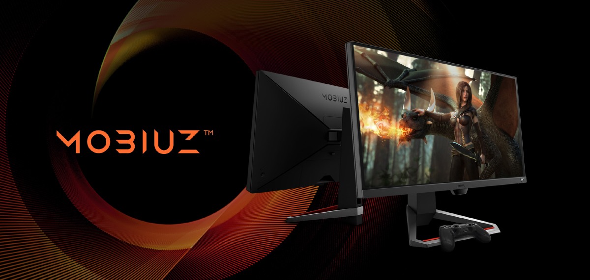 mobiuz gaming monitors come with hdri light tuner and shortcuts to your preferred game settings to level up your gaming immersion