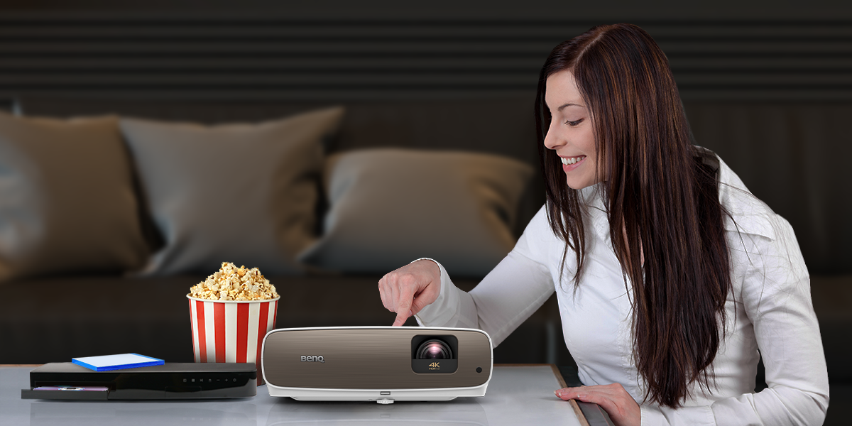 Projectors deliver a tactile home cinema ritual with real feeling