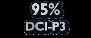95%的DCI-P3