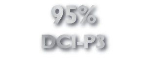 95% DCI-P3