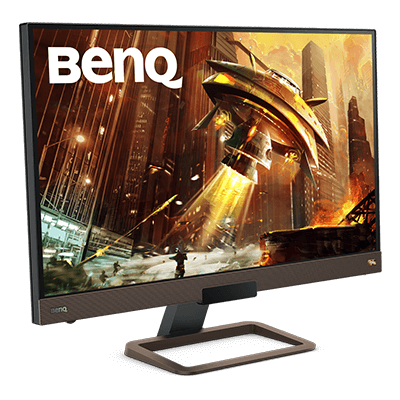 EX2780Q 144Hz gaming monitor w/HDRi and integrated speakers for 2.1 channel sound