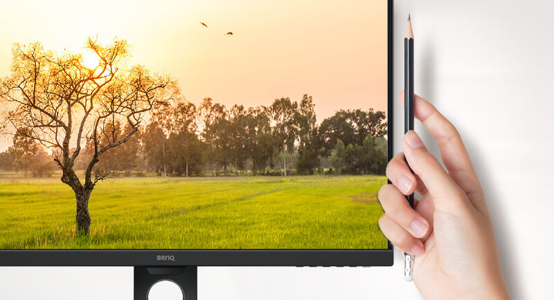 GW2780T offers edge-to-edge panel with ultra slim bezels