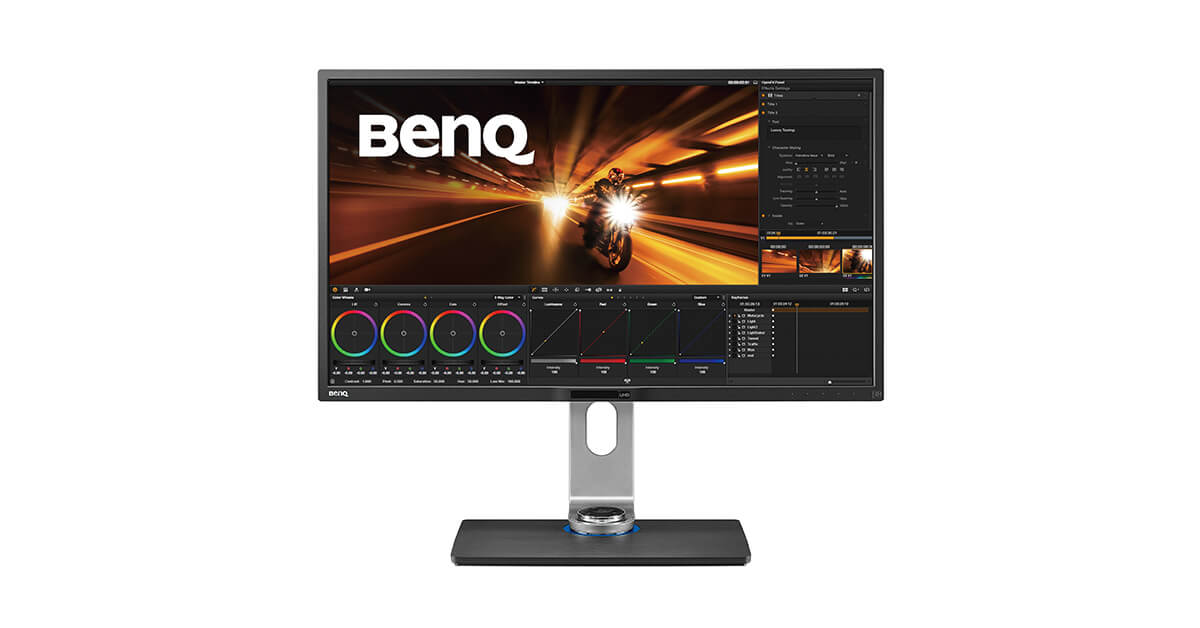 PV3200PT Video Post-Production Monitor with 4K Rec 709 | BenQ
