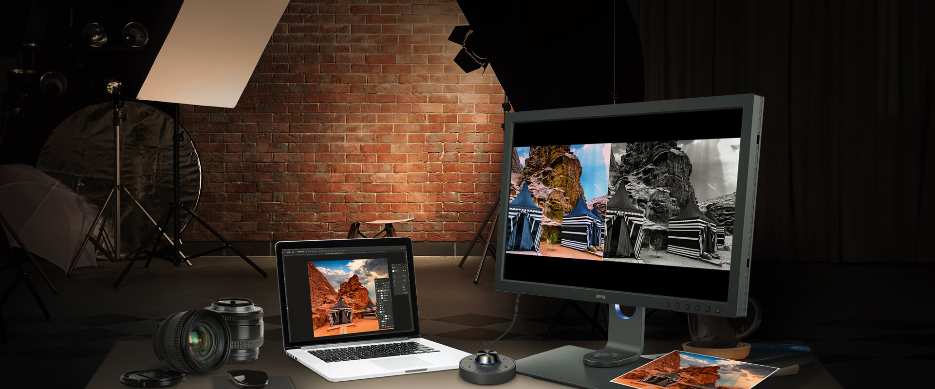 benq professional productivity and efficiency boosts simplify photo retouching and video editing