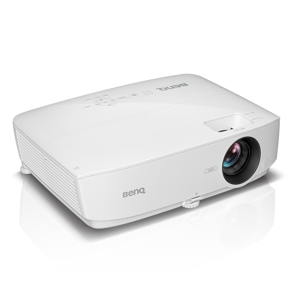 Mh534 eco friendly 1080p business projector benq for Best pocket projector for business