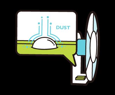 防塵累積感測器