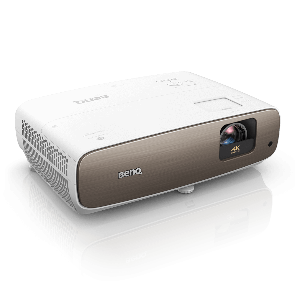 W2700i 4K HDR smart home projector is powered by Android TV, also with CinematicColor™ technology expands the level of cinematic enjoyment in your living room. Empowered by the super-wide DCI-P3 industry standard color space and delicate true 4K resolution, HT3550 delivers the highest level of image accuracy to satisfy cinema fanatics' taste.