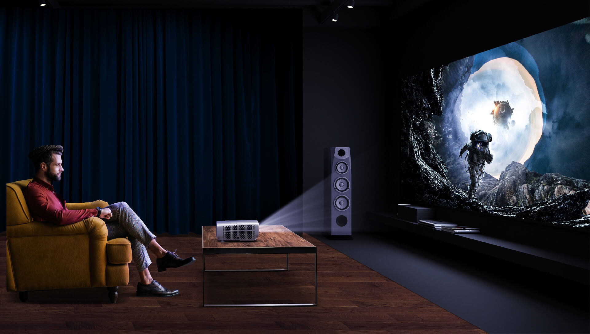 projectors for the premium home theater