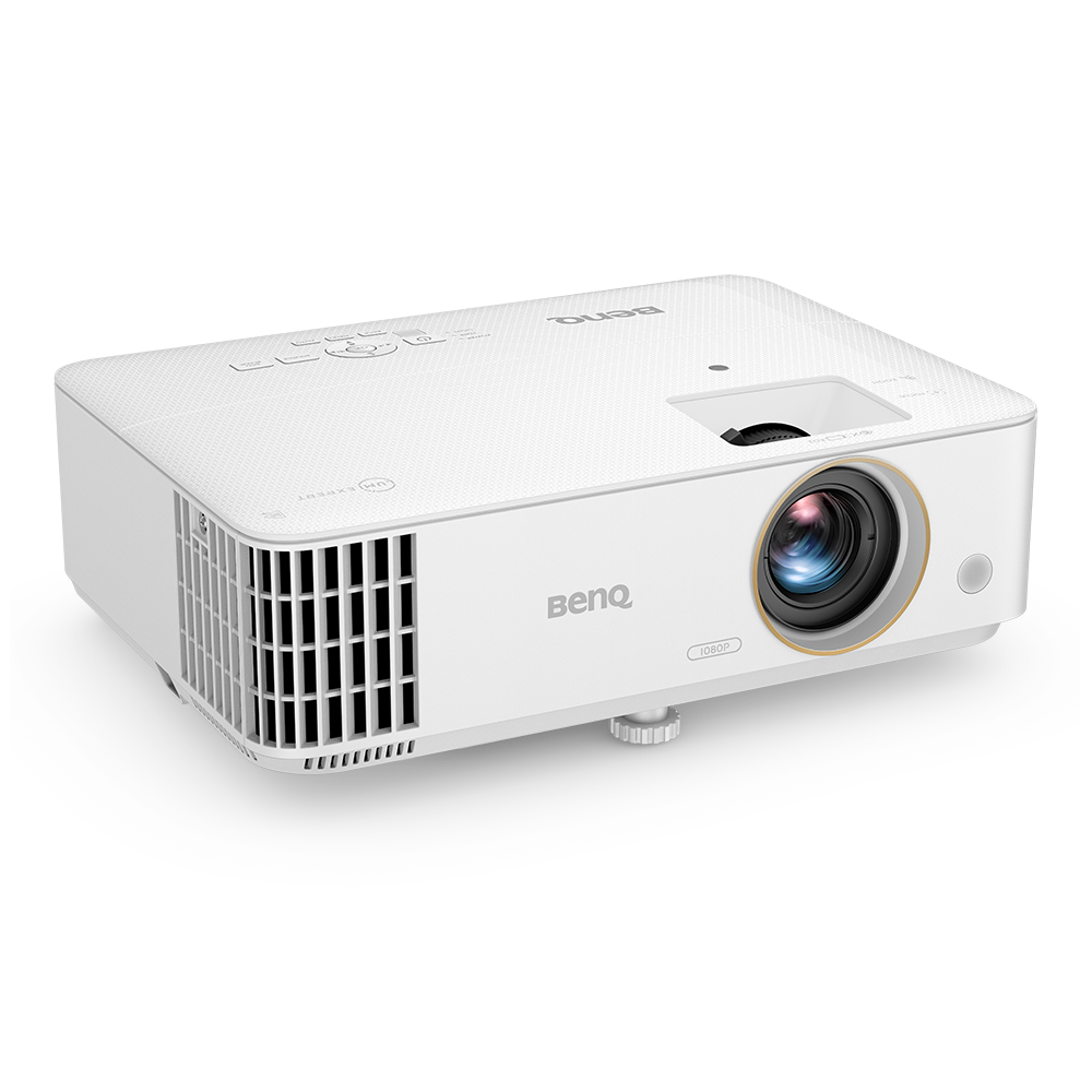 Built for gaming, TH685i Console Gaming Home Projector comes with 8.3ms low input lag, 1080p, HDR and 3500 lumens of ultra brightness. It delivers intense action even in daylight with impressive audio.