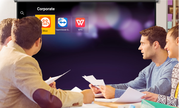 Business apps ready for you boosting meeting efficiency by completing tasks on the spot
