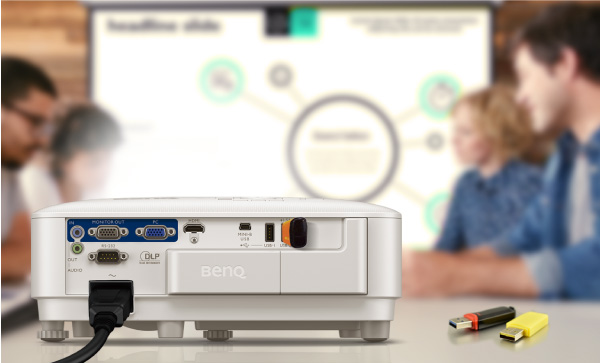 The wireless projection feature allows for seamless collaboration to stimulate innovation