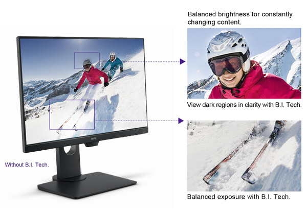 benq stylish monitor gw2480t