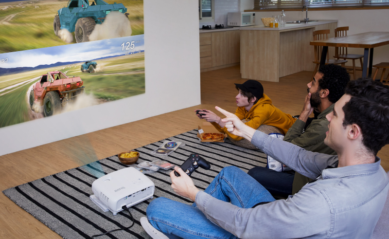 benq proyektor home entertainment