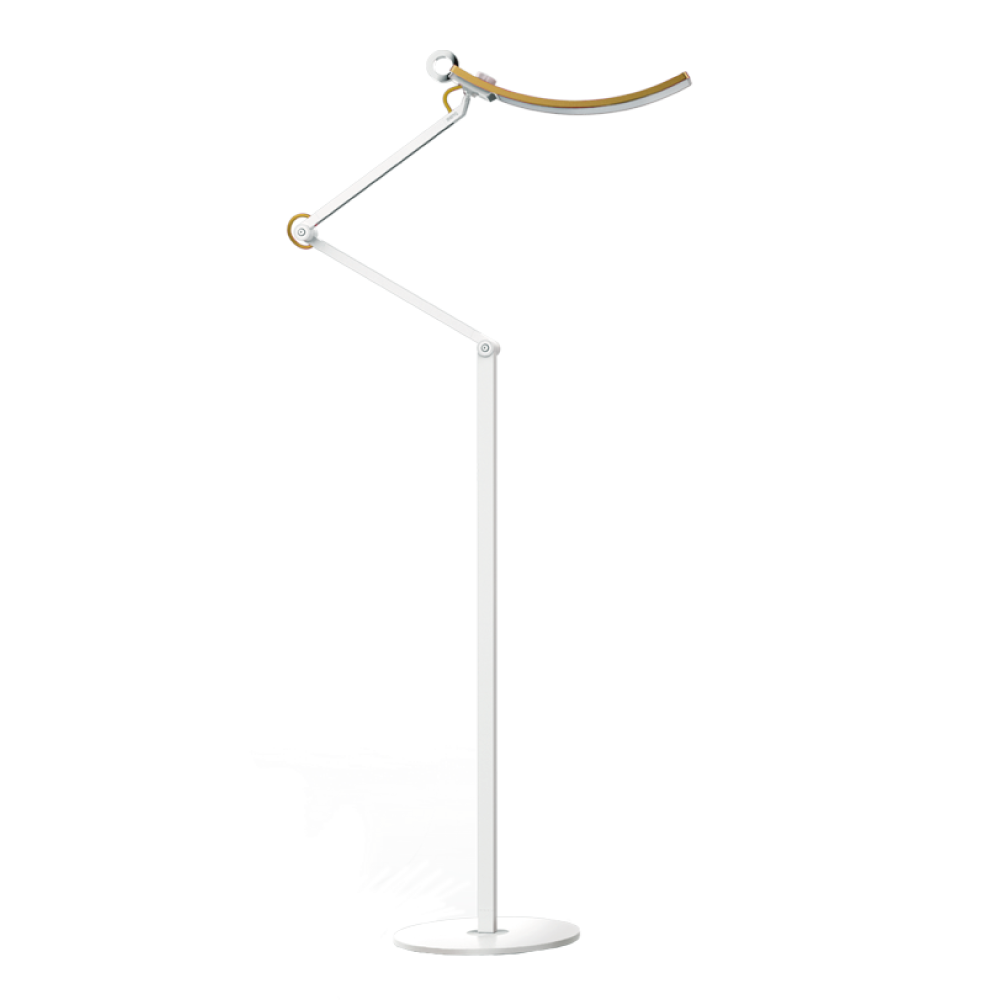 E Reading Floor Lamp Led Metal, Floor Lamp With Dimmer Switch And Adjustable Arm
