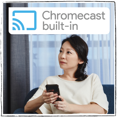 Chromecast built-in_BenQ F55-710