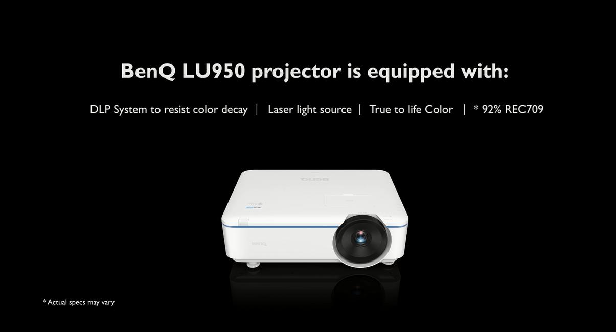BenQ  LU950 Laser Projector
