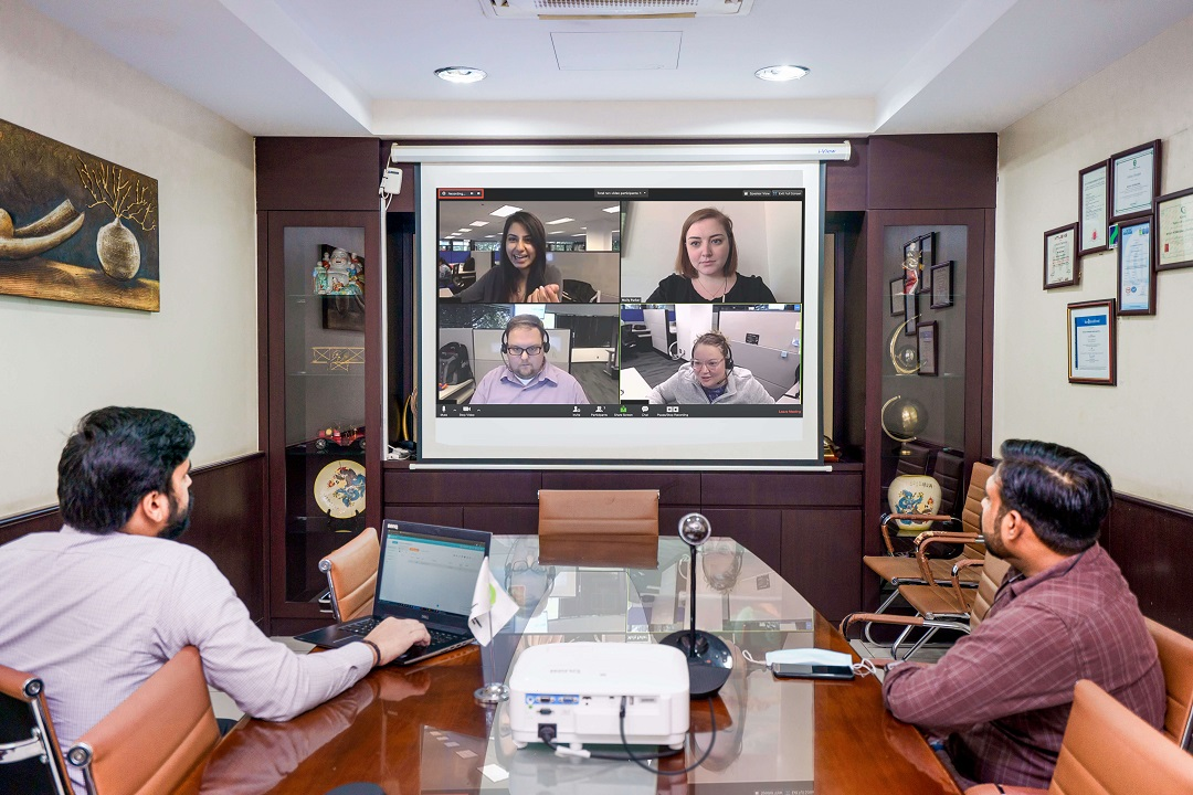 Smart Projector PGI Group Case Study Success Story for Portable Video Conferencing Solution UAE