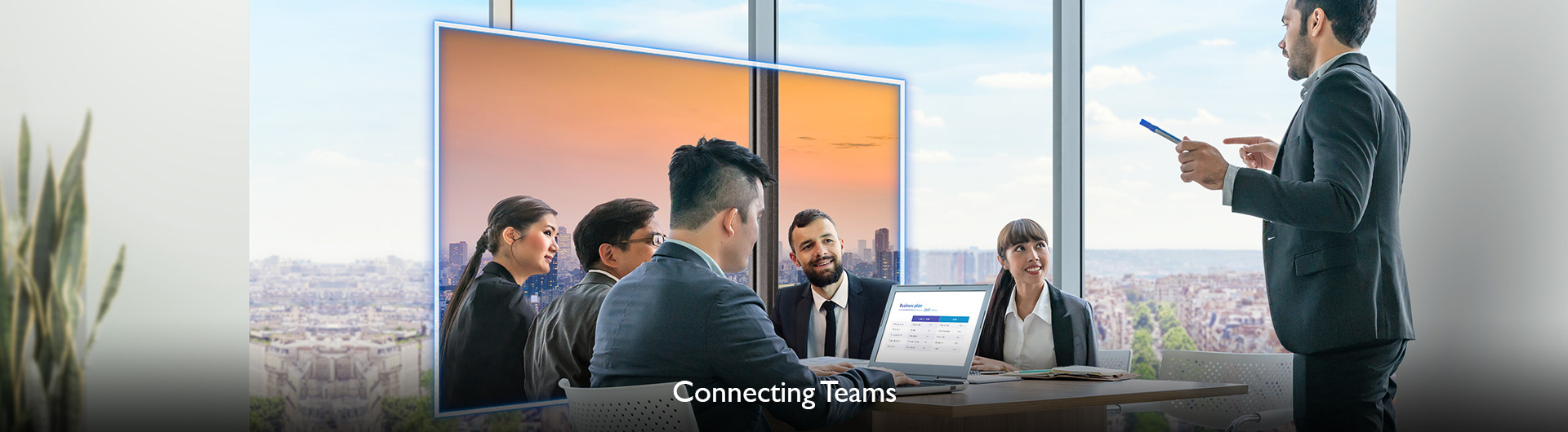 Connecting Teams through Collaboration with BenQ Smart Meeting Rooom Solutions