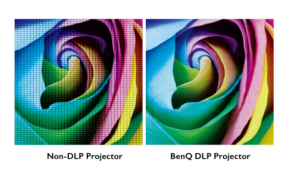 The DLP projection technology built in BenQ DX808ST XGA DLP Dust proof Projector ensures a superb viewing experience.