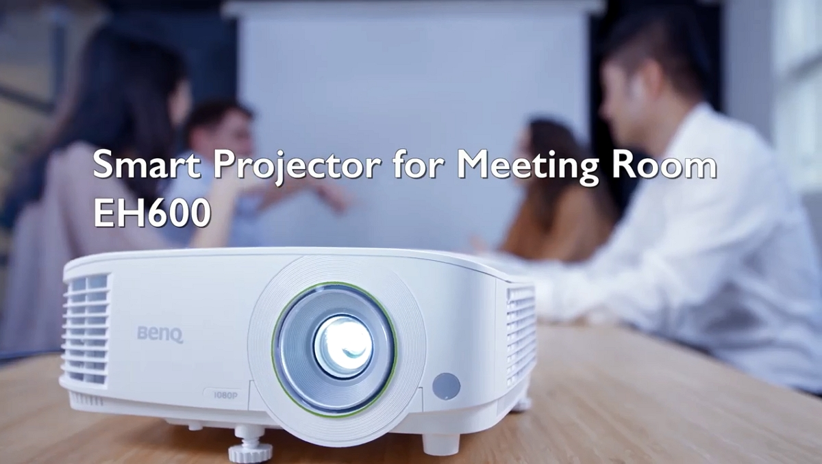 BenQ Wireless Smart Projector EH600  for Portable Video Conference Solution