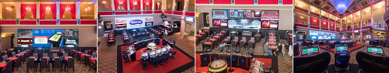 Casino Increases Traffic With Video Wall Benq Business Us