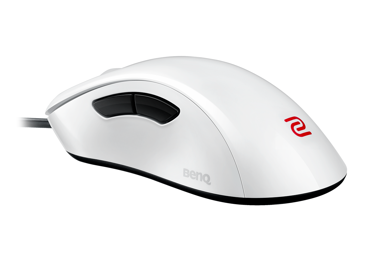 zowie white gaming mouse